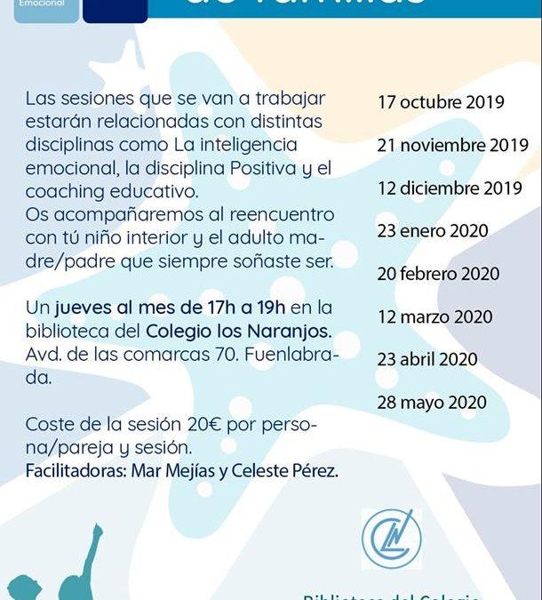FECHAS ESCUELA FAMILIAS CURSO 2019-2020